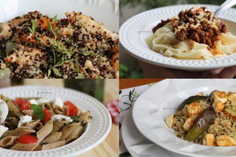 Receitas para o almoço de Dia das Mães. Post completo em http://gordelicias.biz.