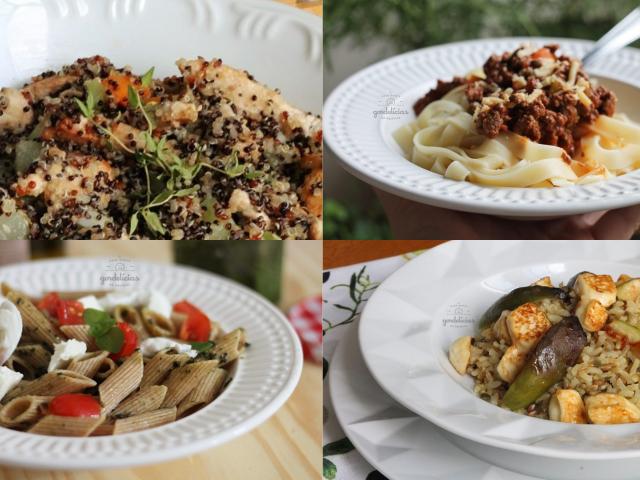 Receitas para o almoço de Dia das Mães. Post completo em https://gordelicias.biz/.