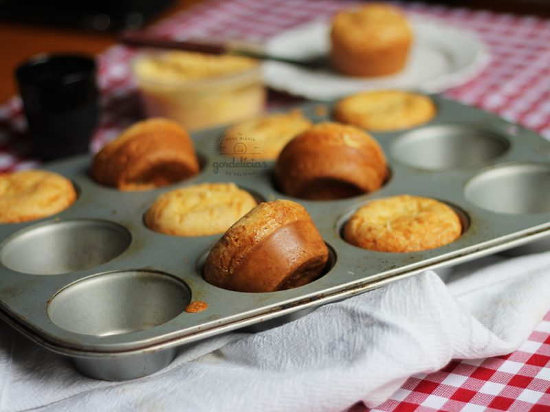 Pão de Queijo de Liquidificador. Receita rápida e fácil, completa em http://gordelicias.biz.
