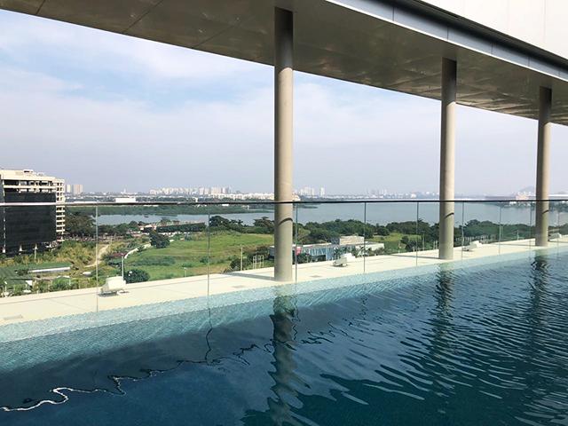Onde se hospedar no Rio de Janeiro: Hilton Barra Rio :: post completo em https://gordelicias.biz/