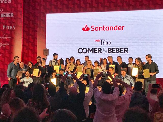 Confira os ganhadores de VEJA Rio Comer & Beber 2018/2019 :: http://gordelicias.biz.