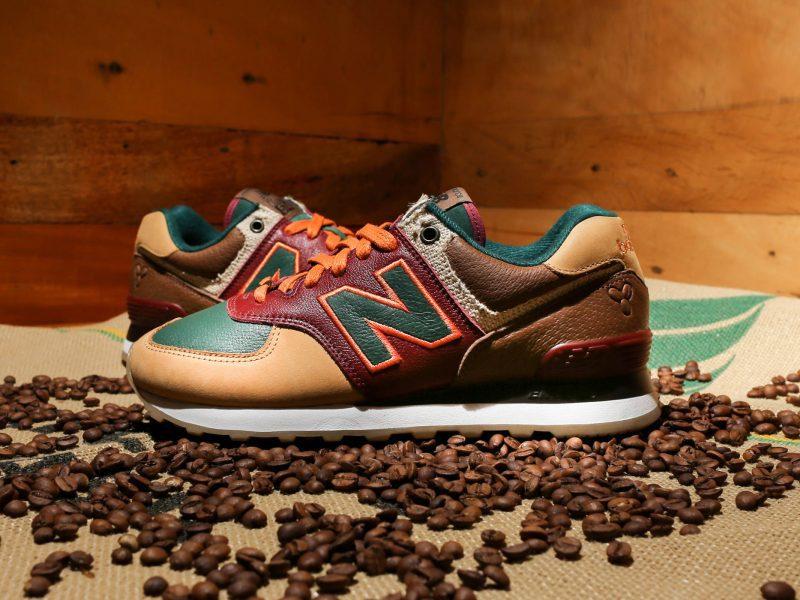 New Balance e Your ID lançam tênis inspirado no café. Mais em http://gordelicias.biz.