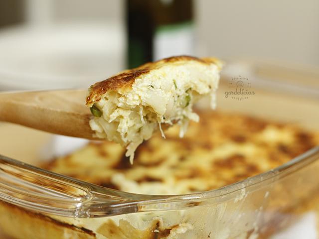 Bacalhau Gratinado Fácil. Receita super prática e deliciosa para saborear o ano todo. Mais em http://gordelicias.biz.