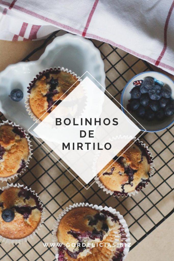 Aprenda a fazer um delicioso Bolinho de Mirtilo. Receita em https://gordelicias.biz.