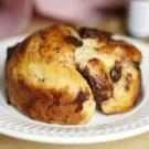Pão de Leite com Chocolate e Creme de Avelã