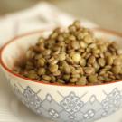 Como fazer lentilha soltinha