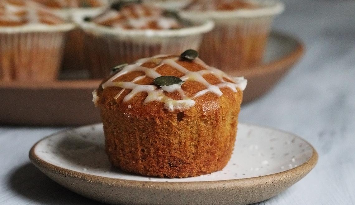 Muffins de Abóbora | Raquelícias